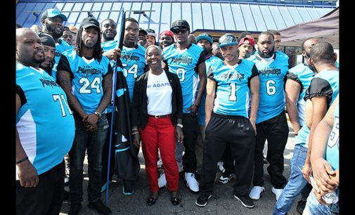 Semi-pro team reaches out to the community