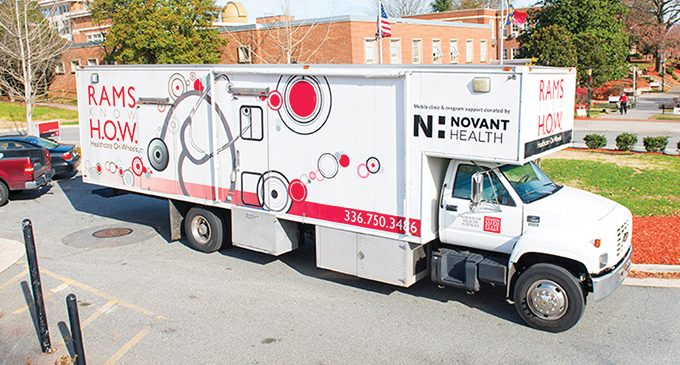 WSSU's Rams mobile clinic expands services, hours