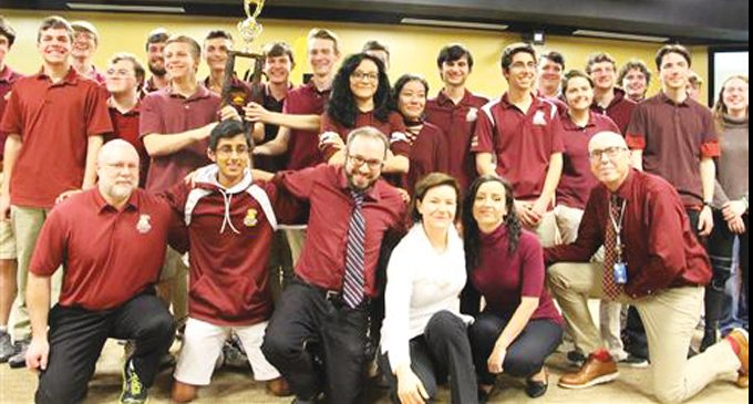 Atkins wins District Academic Competition