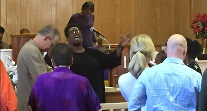 Community embraces targeted N.C. church