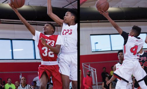 Middle school hoopers take center stage
