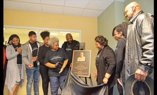 Walter Marshall building dedicated