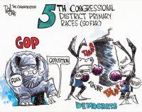 Editorial Cartoon: 5th Congressional District