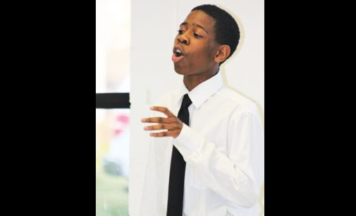 Oratorical skills at church academy