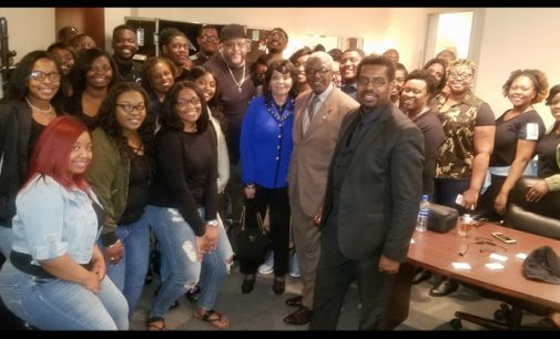 Livingstone Gospel Choir shines on stage with award-winning gospel artists