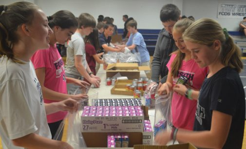 School joins fight to end food insecurity