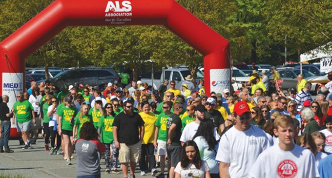 Walking to defeat ALS