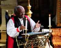 Fiery bishop at royal wedding served in W-S