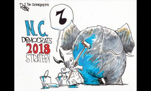 Editorial Cartoon: N.C. Democrats