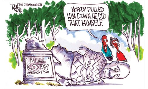 Political Cartoon: Bill Cosby
