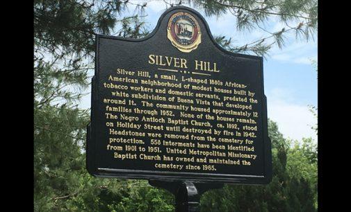 Marker commemorates black neighborhood