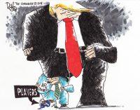 Editorial Cartoon: Pressure