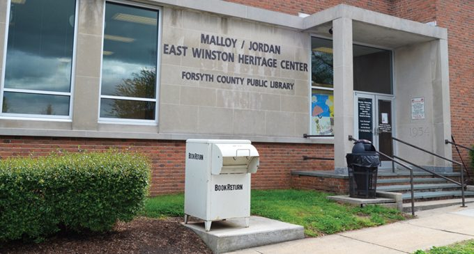 Malloy/Jordan and other library branches receive capital funds