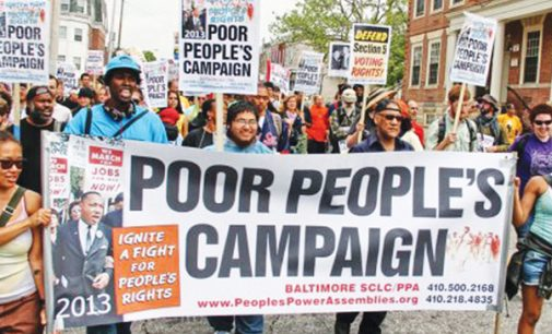 Welcome to the Poor People's Campaign