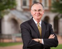 WFU's president receives Career Services Excellence Award