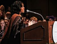 Never give up passion for the arts, speaker tells UNCSA high school grads