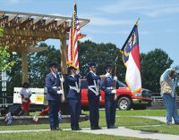 Delayed HARRY event honors veterans