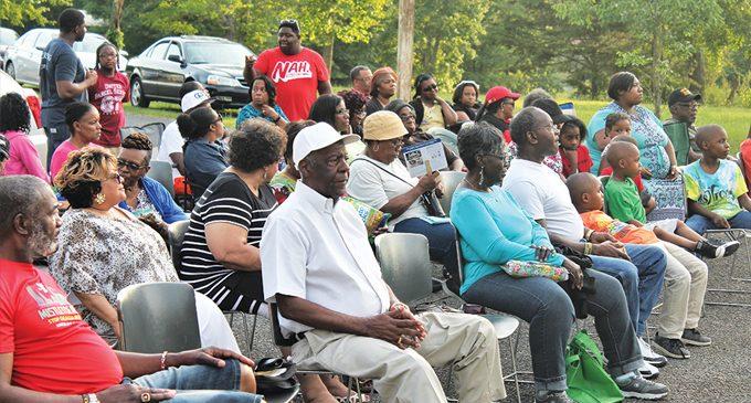 Church celebrates revival amid nature