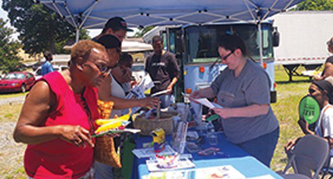 Neighborhood association hosts first community block party