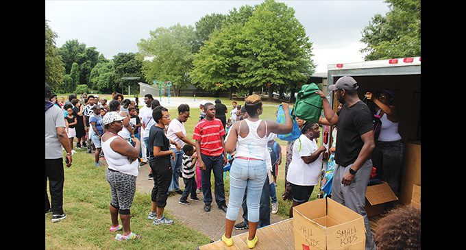 Community gearing up for back-to-school giveaways | WS Chronicle