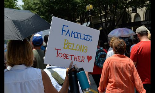 Protesters call for family  reunification, ending ICE