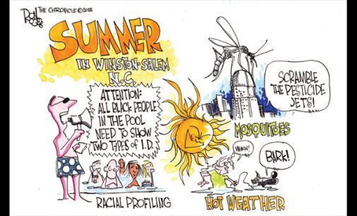 Editorial Cartoon: Summer in Winston-Salem