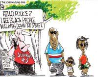 Editorial Cartoon: Being Black in Winston