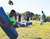 Youth football league gearing up for the season