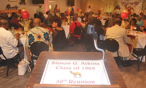 Older alumni of Atkins High celebrate history