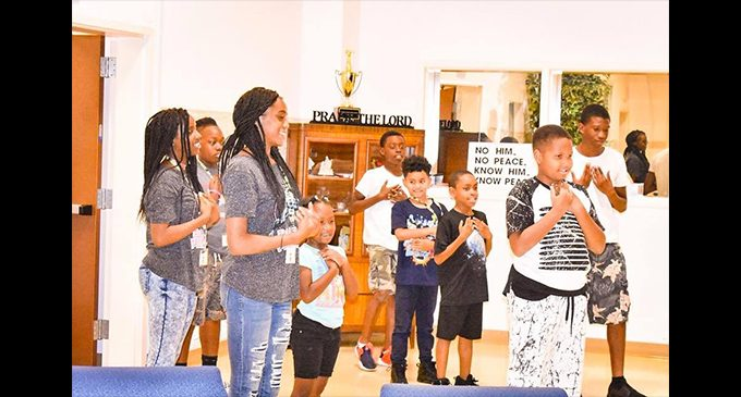 First Waughtown finishes third Bible Boot Camp