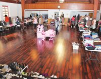 Church ministry holds clothing giveaway for community