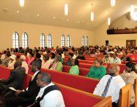 Historic church celebrates homecoming