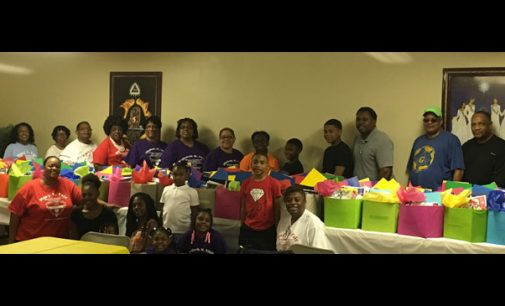 Masonic youth gather for fun before school starts
