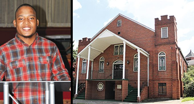 Young pastor begins his own ministry