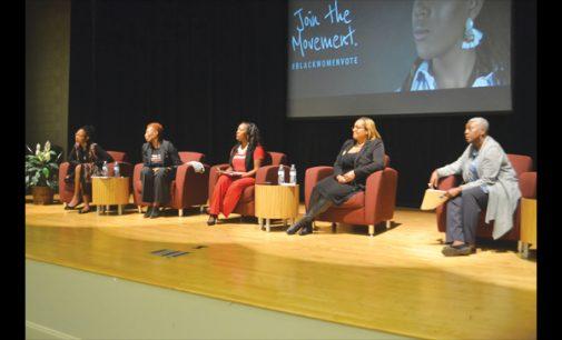 Town hall explores voting of black women