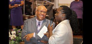 Pastor celebrates anniversary