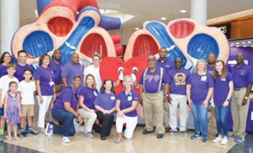 Omegas, Novant unite on stroke awareness