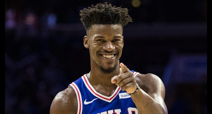 Jimmy Butler goes to Philly
