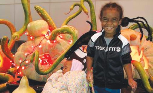 Hospital patients celebrate Halloween