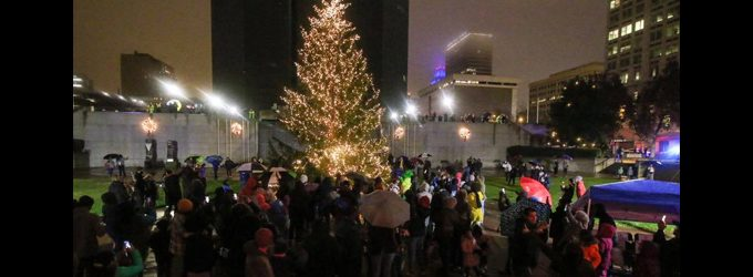 Holiday festivities paint downtown W-S