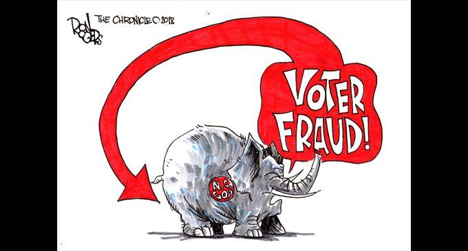 Editorial Cartoon: Voter Fraud