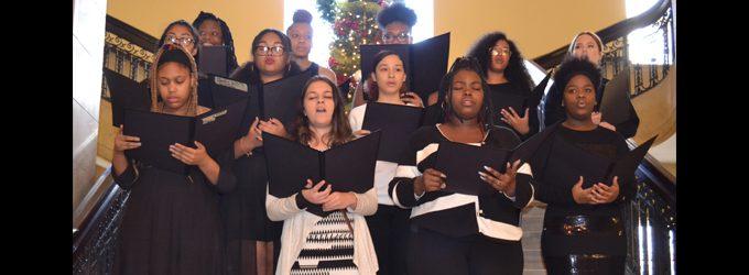 Carver kicks off 2018 City Hall Holiday Music Series