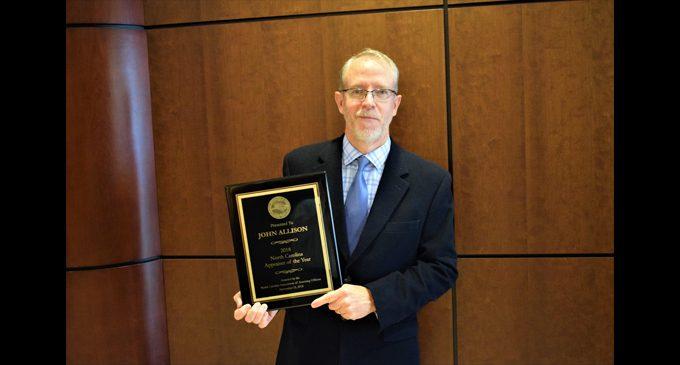 Forsyth County's John Allison is Appraiser of the Year