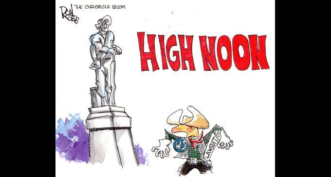 Editorial Cartoon: High Noon
