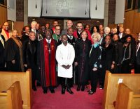 Ministers' conference service raises money for scholarships