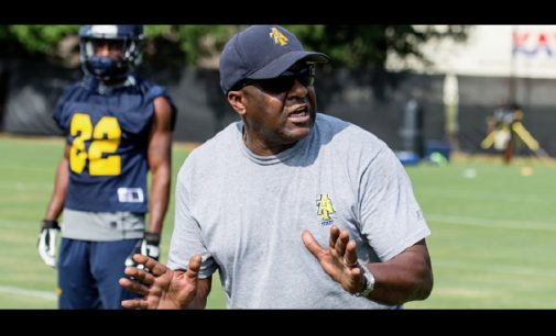 Aggies head coach speaks about first season at the helm