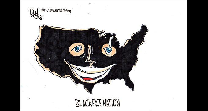 Editorial Cartoon: Black Face Nation