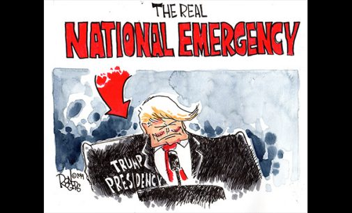 Editorial Cartoon: The Real National Emergency