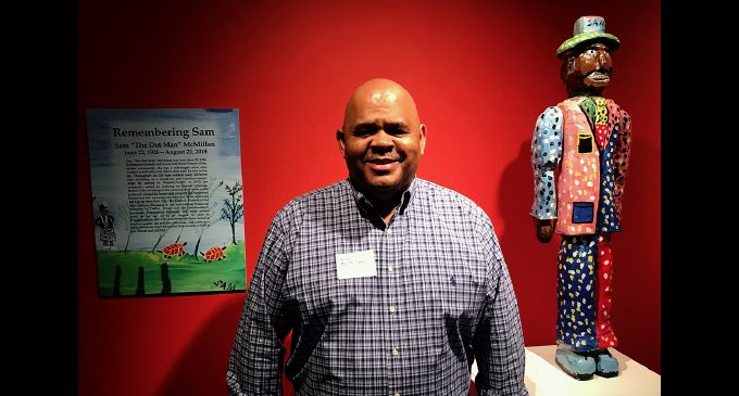 """Exhibit by late artist Sam """"The Dot Man"""" McMillan opens at SECCA"""