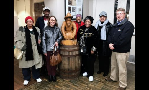 Seniors group tours Reed Gold Mine